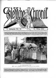 Schlesien : Illustrierte Zeitschrift für die Pflege heimatlicher Kultur. Zeitschrift des Kunstgewerbevereins für Breslau u. die Provinz Schlesien, 5. Jahrgang, 1912, 15 März, Nr 12
