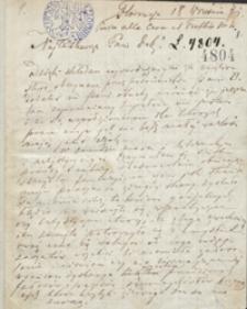 [Listy Teofila Lenartowicza do Izabeli Zbiegniewskiej z lat 1871-1893]