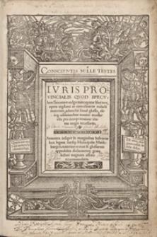 Iuris Provincialis quod speculum Saxonum vulgo nuncupatur libri tres […] Annotata insuper in marginibus habentur loca legum Iuris[ue] Municipalis Maideburgen[si]