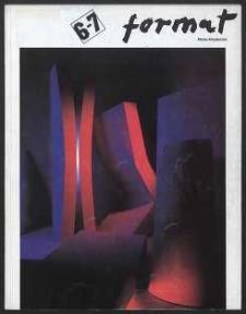 Format : pismo artystyczne, 1992, nr 1-2 (6-7)