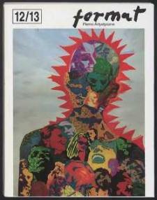 Format : pismo artystyczne, 1993, nr 3-4 (12-13)