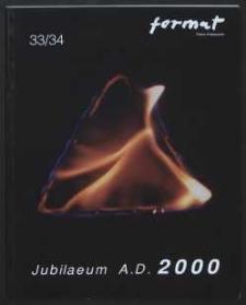Format : pismo artystyczne, 2000, nr 1-2 (33-34)