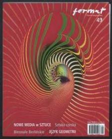 Format : pismo artystyczne, 2006, nr 1 (49)