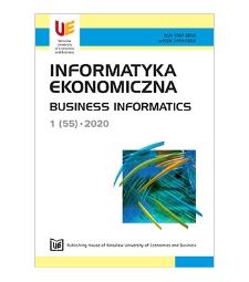 Spis treści [Informatyka Ekonomiczna = Business Informatics, 2020, Nr 1 (55)]