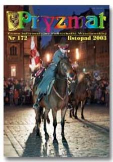 Pryzmat : Pismo Informacyjne Politechniki Wrocławskiej. Listopad 2003, nr 172
