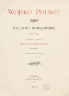 Wojsko polskie : Księstwo Warszawskie : 1807-1814