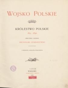 Wojsko polskie : Królestwo Polskie : 1815-1830