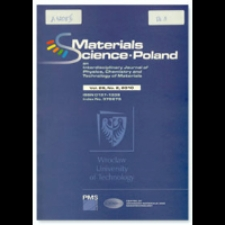 Materials Science-Poland : An Interdisciplinary Journal of Physics, Chemistry and Technology of Materials, Vol. 28, 2010, Nr 4