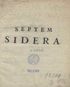 Septem Sidera