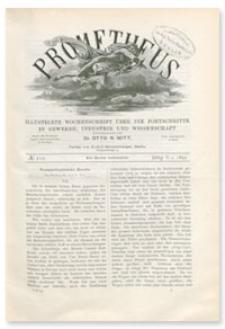 Prometheus : Illustrirte Wochenschrift über die Fortschritte in Gewerbe, Industrie und Wissenschaft. 5. Jahrgang, 1893, Nr 212