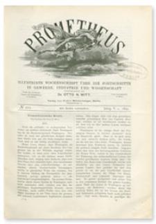 Prometheus : Illustrirte Wochenschrift über die Fortschritte in Gewerbe, Industrie und Wissenschaft. 5. Jahrgang, 1894, Nr 222