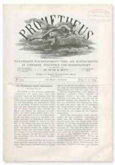 Prometheus : Illustrirte Wochenschrift über die Fortschritte in Gewerbe, Industrie und Wissenschaft. 5. Jahrgang, 1894, Nr 234