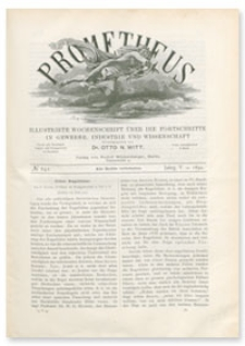 Prometheus : Illustrirte Wochenschrift über die Fortschritte in Gewerbe, Industrie und Wissenschaft. 5. Jahrgang, 1894, Nr 242