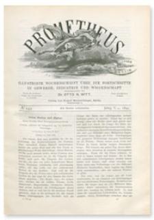 Prometheus : Illustrirte Wochenschrift über die Fortschritte in Gewerbe, Industrie und Wissenschaft. 5. Jahrgang, 1894, Nr 249