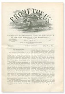 Prometheus : Illustrirte Wochenschrift über die Fortschritte in Gewerbe, Industrie und Wissenschaft. 5. Jahrgang, 1894, Nr 251
