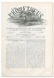 Prometheus : Illustrirte Wochenschrift über die Fortschritte in Gewerbe, Industrie und Wissenschaft. 5. Jahrgang, 1894, Nr 253
