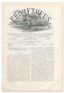 Prometheus : Illustrirte Wochenschrift über die Fortschritte in Gewerbe, Industrie und Wissenschaft. 5. Jahrgang, 1894, Nr 256
