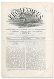 Prometheus : Illustrirte Wochenschrift über die Fortschritte in Gewerbe, Industrie und Wissenschaft. 5. Jahrgang, 1894, Nr 258