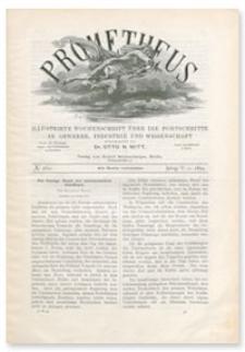 Prometheus : Illustrirte Wochenschrift über die Fortschritte in Gewerbe, Industrie und Wissenschaft. 5. Jahrgang, 1894, Nr 260