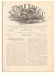 Prometheus : Illustrirte Wochenschrift über die Fortschritte in Gewerbe, Industrie und Wissenschaft. 4. Jahrgang, 1893, Nr 176