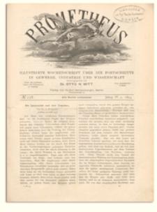 Prometheus : Illustrirte Wochenschrift über die Fortschritte in Gewerbe, Industrie und Wissenschaft. 4. Jahrgang, 1893, Nr 178