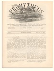 Prometheus : Illustrirte Wochenschrift über die Fortschritte in Gewerbe, Industrie und Wissenschaft. 4. Jahrgang, 1893, Nr 205